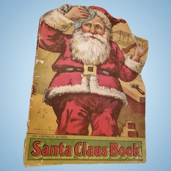 Very Old Children's Santa Claus Christmas Book