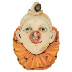 Vintage Clown Ring Toss Game