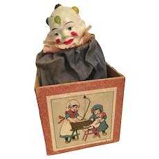 Very Old Clown Jack-In-The-Box