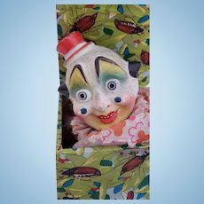 Victorian Psychedelic Clown Jack-In-The-Box Toy