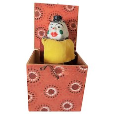 Very Old Clown Jack in the Box Toy
