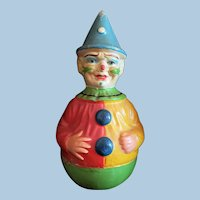 Large Clown Roly Poly Toy
