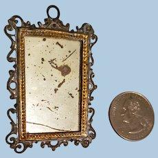 Very Old Dollhouse Mirror