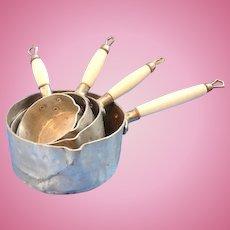 Set of Miniature Kitchen Pans