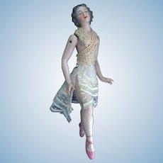 Dressel & Kister Large Bathing Beauty Figurine