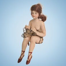 Beautiful German Bathing Beauty Figurine