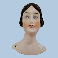 Porcelain Doll Head for Pincushion or Pillow