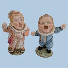 Ginori Porcelain Grotesque Figurines