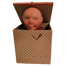 Squeak Toy Jack-In-The-Box Grandpa