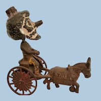 Kenton Cast Iron Nodder Toy Happy Hooligan