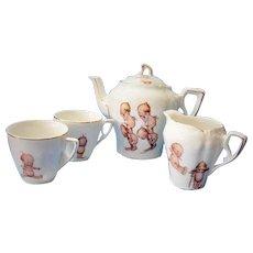 Child's Tea Set Rose O'Neill Kewpies - Red Tag Sale Item