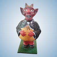 Krampus Devil German Candy Container