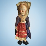 Very Old Cloth Bodied Ethnic Doll