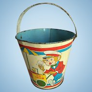 Monkeys Tin Sand Toy Bucket