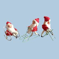 Norwegian Vintage Nisse Christmas Elves