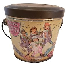 Red Seal Nursery Rhyme Peanut Butter Tin