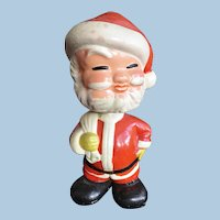 Vintage Unusual Santa Claus Bobblehead Doll