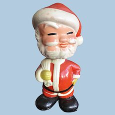 Vintage Unusual Santa Claus Bobblehead Doll