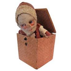 Rare Santa Claus Jack in the Box
