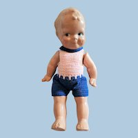 Adorable Scootles Composition Doll