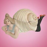 Bathing Beauty in Snail Shell