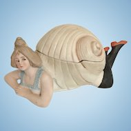 Bathing Beauty in Snail Shell