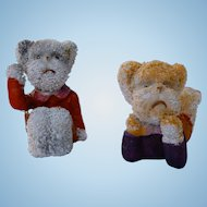 Pair of Snow Baby Bears