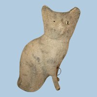 Pipsqueak Noisemaker Antique Toy Cat