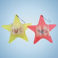 Vintage Spinner Star Shape Ornaments