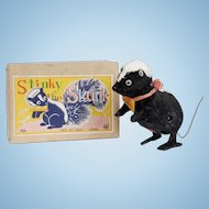 Vintage Stinky the Skunk WIndup Toy
