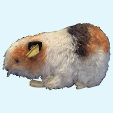 German Steiff Guinea Pig Stuffed AnimaL