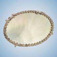 Vintage Ornate Vanity Dresser Mirror