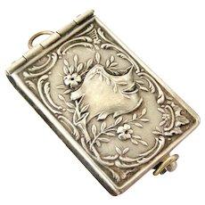 French art nouveau Paris souvenir book fob locket