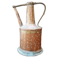 Antique Copper Water Pitcher