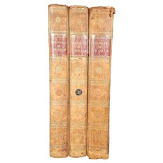 Anecdotes of The Life of the Right Honourable William Pitt, Earl of Chatham - 3 Volumes