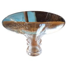 Vintage Steuben Crystal Glass Bouquet Flared Vase #7985 George Thompson