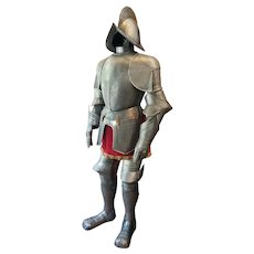 Full-Size Spanish Suit of Armor 16th-Century Reproduction