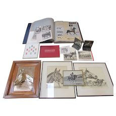 Seabiscuit Collection ~ Memorabilia ~ Lot