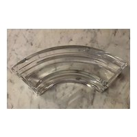 One Piece of Baccarat 4-Piece Round Serving Dish