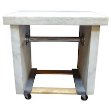 Early 1900s Marble Candy Makers Table