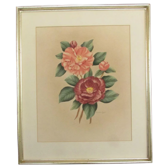Floral Water Color by Shirrell Watson Graves