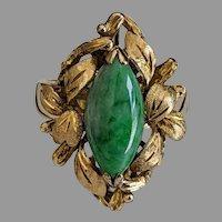 14k Jade Ring
