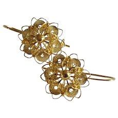 18k Cannetille Earrings