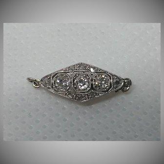 14k Diamond Clasp