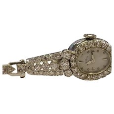 14k Diamond Encrusted Watch