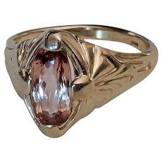 14k Imperial Topaz Ring