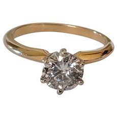 1.15ct Solitaire Diamond Ring