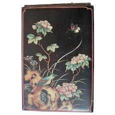 Antique Paper Mache Note Pad Holder