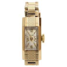 Baume Mercier Ladies Watch | 9K Yellow Gold | Swiss Vintage Retro UK