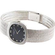 Audemars Piguet Ladies Watch | 18K White Gold Diamond | Vintage Wrist